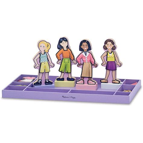 fashion doll best friends forever best friends forever magnetic dress up minds toys