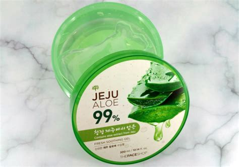 The Shop Jeju Aloe 99 Fresh Soothing Gel 300ml review the shop jeju aloe 99 fresh soothing gel yukcoba in