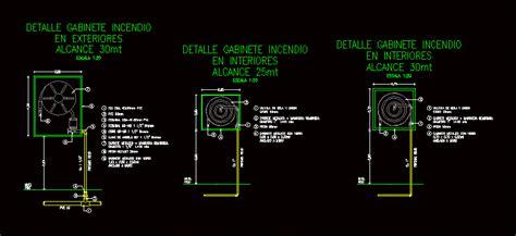 cabinets fire dwg block  autocad designs cad