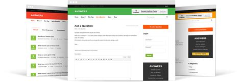 wordpress theme question answer question answers wordpress theme 2018 create your q