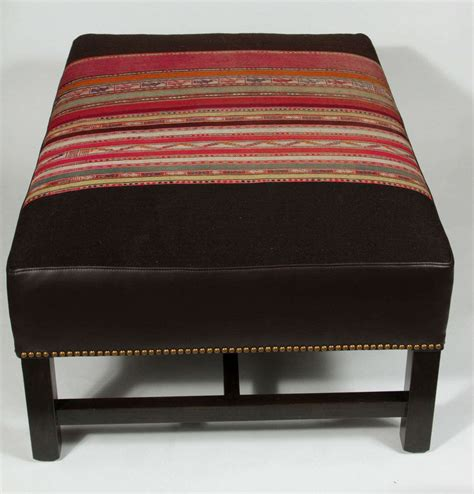 custom ottomans custom ottoman at 1stdibs