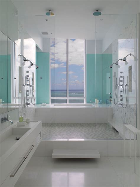 just bathrooms 13 inspirational exles of blue and white bathrooms