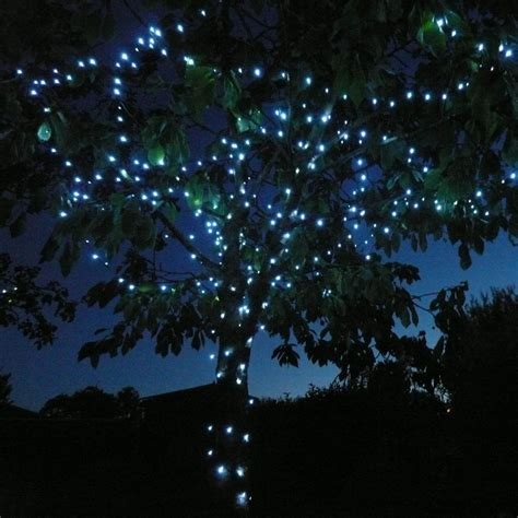 Solar Fairy Lights 100 White Led Powerbee Endurance Lights Uk