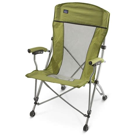 Armchair Commander Commander Foldable Arm Chair Green 234584 Chairs At
