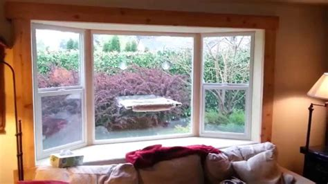 interior cedar trim ideas finish cedar trim on inside of how to install a bay window