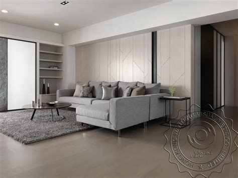 chinese modern minimalist living room interior design 3d modern minimalist japan south korea style living room