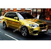 Gold Foil 3M For BMW X5 E70 M CAR TUNING  Tuning Sportcom