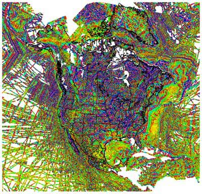 america magnetic anomaly map project descriptions paul a bedrosian