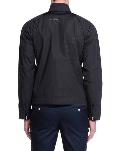 jacket design black lyst porsche design jacket in black for men