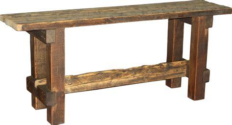Barnwood Buffet Table Style #3 @ Durango Trail Rustic Furniture