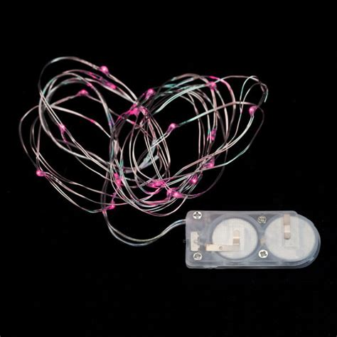 20 Micro Led Pink Submersible String Light Pink String Lights