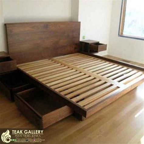 Harga Tempat Tidur Bed by Desain Tempat Tidur Minimalis Jati Jepara Dipan Jati