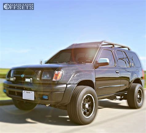 nissan xterra wheels wheel offset 2001 nissan xterra aggressive 1 outside