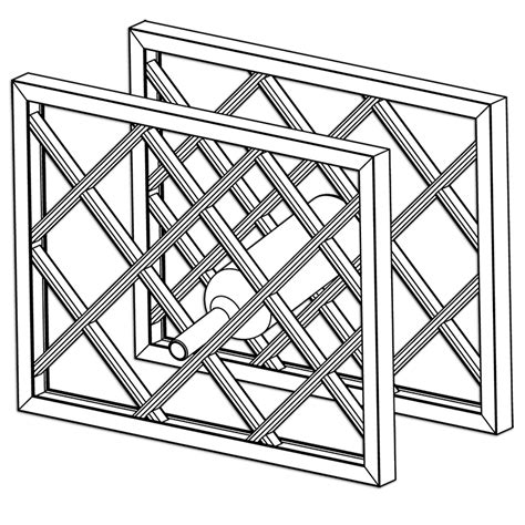 lattice wine rack dimensions assembled wine rack with