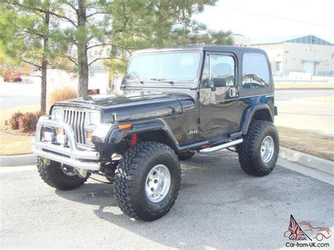 1988 Jeep Wrangler Yj 1988 Jeep Wrangler 350 V 8 4x4 Lifted Other Yj