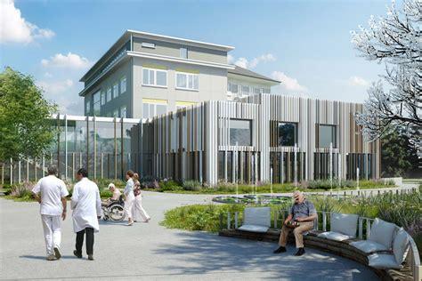 Nursing Home Design Models Architectural Rendering Architectural Visualisation Of A