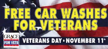 Best Car Deals For Veterans Free Car Washes For Veterans On Veteran S Day