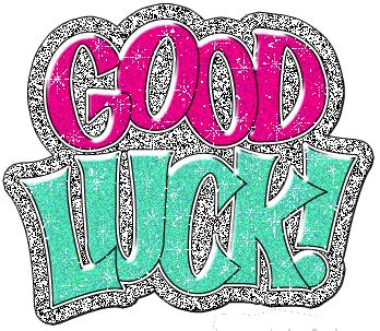 gud luck good luck glitters for myspace facebook whatsapp
