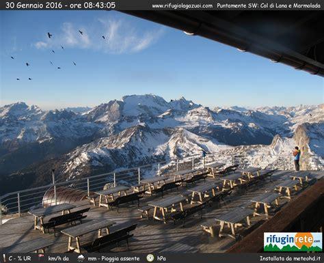 cortina web tempo reale for ski on quot rifugio lagazuoi tofane