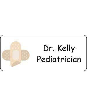 medical name tags nurse doc easy to customize name