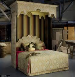 at at bed the world s most expensive bed made for queen s 60th