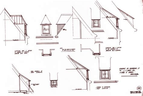 Dormer Roof Detail Eyebrow Dormer Construction Drawings Studio Design