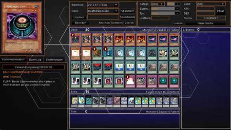 yugioh karten deck yu gi oh deck profile decktod deck