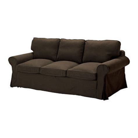 ikea ektorp three seat sofa ikea ektorp pixbo 3 seater sofa bed svanby brown 301 824 28