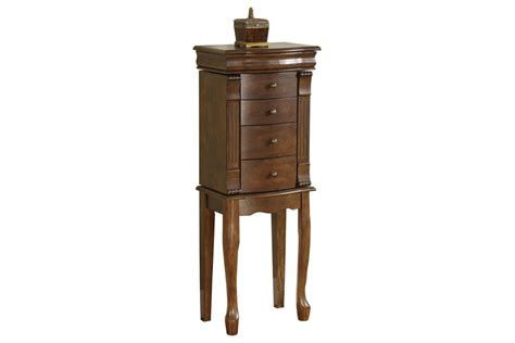 Louis Philippe Jewelry Armoire by Louis Philippe Walnut Jewelry Armoire Powell 741 319