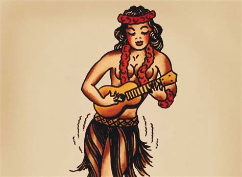 hula girl tattoo designs 81 best images about sailor jerry on singapore