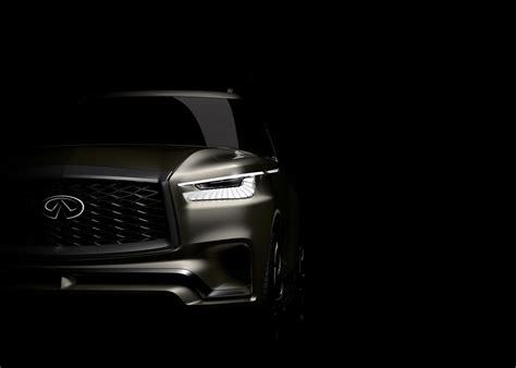 york infinity infiniti s new york auto show debut likely teases 2018 qx80