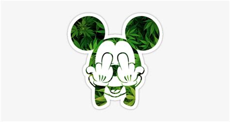 hands mickey mouse weed png svg royalty  stock