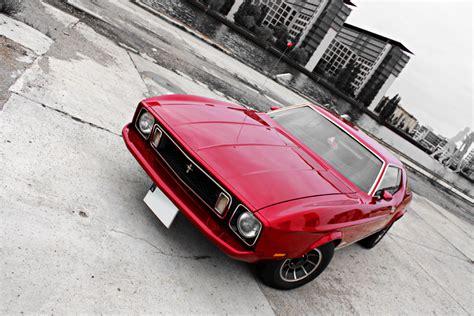 Mustang Auto Herkunft by Corinna Und Ihr Lippenstiftroter Ford Mustang Liebe Auf
