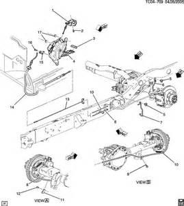 Service Brake System Cadillac Escalade Cadillac Escalade Parking Brake System