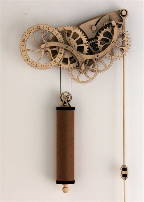 Design A Garage Online For Free mechanical wood clock kit scientificsonline com
