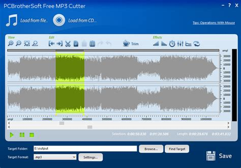 mp3 cutter software free download for pc full version windows xp pcbrothersoft free mp3 cutter full windows 7 screenshot
