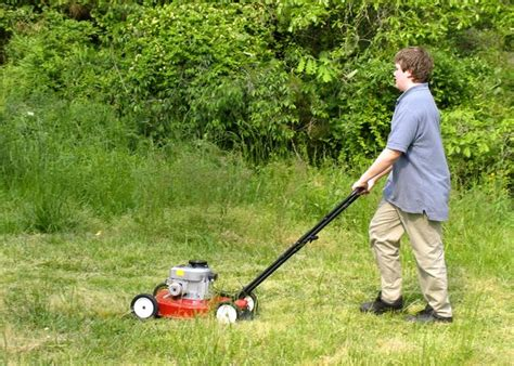 mowing the lawn for the 301 moved permanently