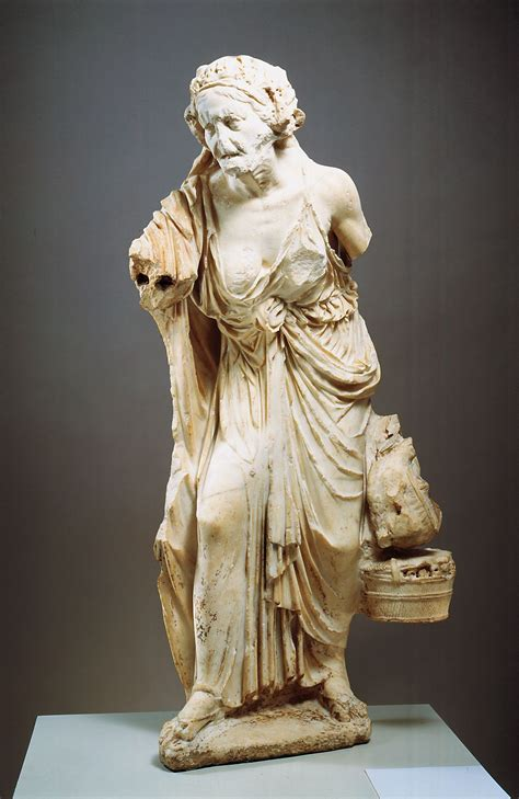 ancient greek woman sculpture the old market woman ca 150 100 bce marble 4 1 2 quot high