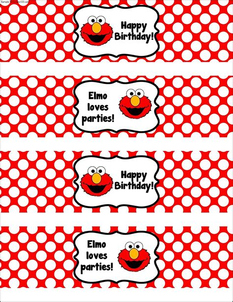 birthday labels template free water bottle label template for birthday sle