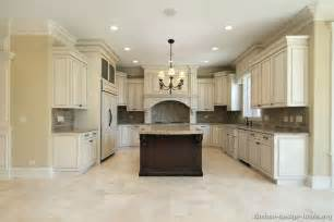 Marble Floors Kitchen Design Ideas Pictures Of Kitchens Traditional White Antique Kitchen Cabinets Page 5
