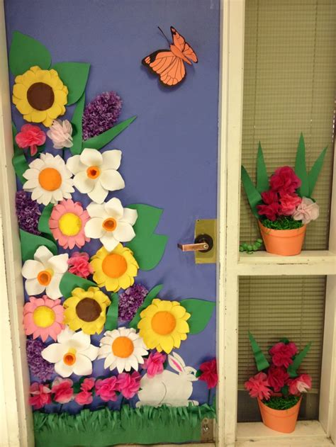 door decorations for spring spring door contest winner class doors decorations