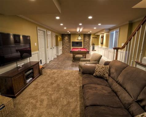 basement design ideas for narrow living rooms design