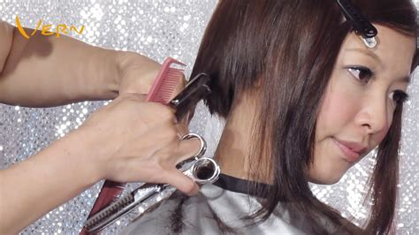 pixie cut hairstyles youtube how to cut pixie concave bob women haircut with curly