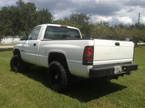 1996 dodge ram 1500 lifted find used 1996 dodge ram 1500 v8 lifted 35 s truck in