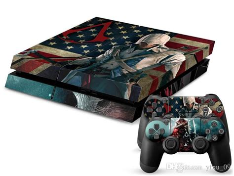 ps4 skin jthief by stiker onlen cool assassins creed ps4 decals ps4 skin vinyl stickers 1
