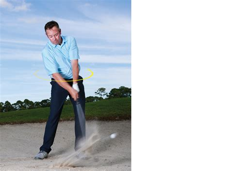 quiet legs golf swing escape any bunker in four easy steps golf com