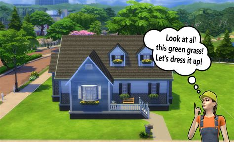 Building for Beginners in The Sims 4 (Landscaping)