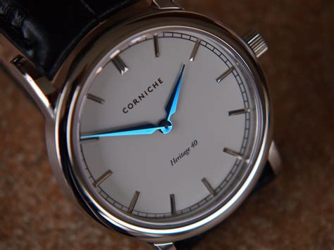 corniche watches review corniche heritage 40 review watchreport