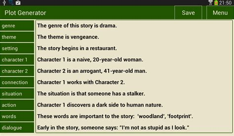 theme generator for stories writer s plot generator 1 2 apk download android
