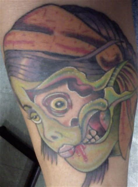 simple zombie tattoo simple zombie girl tattoo tattooimages biz